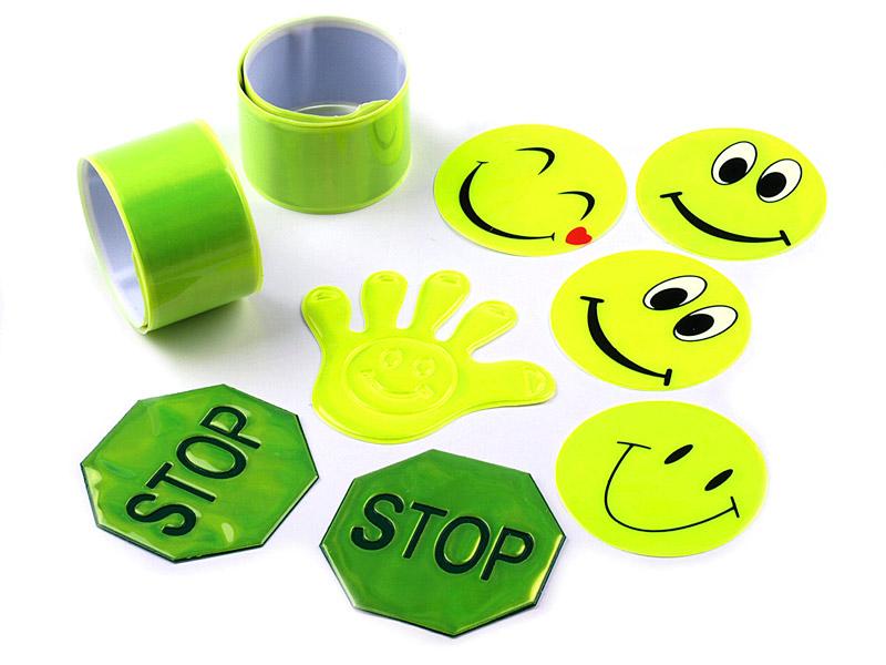 Светоотражающие значки для детей